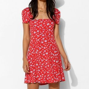 Kimchi Blue UO Red Floral Dress - Small
